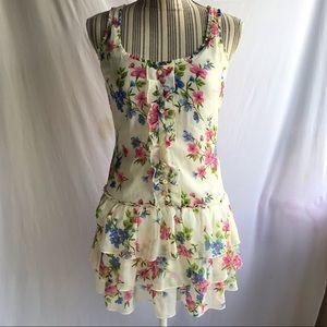 Hollister floral Mini dress small
